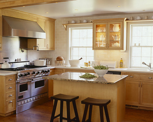 Cream Subway Tile Home Design Ideas Pictures Remodel And