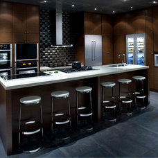 Contemporary Kitchen by Facings of America, Inc