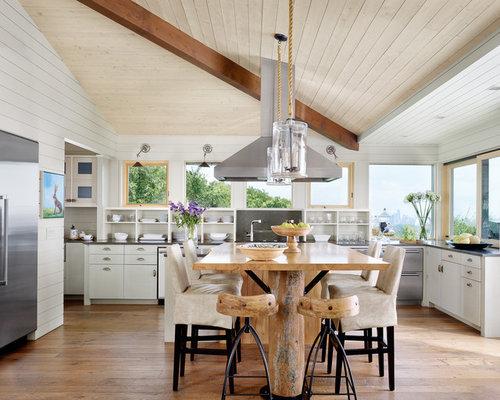 cuisine plafond rampant photos et id es d co de cuisines. Black Bedroom Furniture Sets. Home Design Ideas