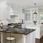 Grey And White Kitchen Traditional Kitchen Dallas By Maddie G Designs Shop Maddie G
