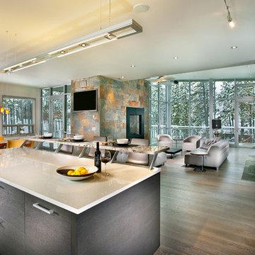 Buckhead Client's Ski Retreat - Kitchen