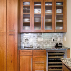 Craftsman Kitchen by Small Carpenters At Large, Inc.