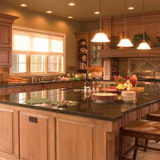 Traditional Kitchen by Collins Group Design, Inc.
