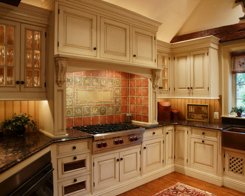terra cotta tile in kitchen terra cotta tile backsplash home design ideas pictures 8441