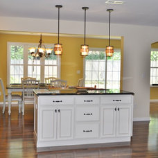 Transitional Kitchen by Colella Construction Inc,  Kitchen and Bath