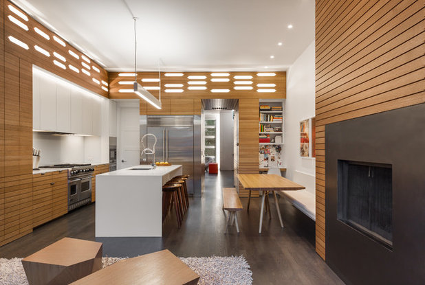 Contemporary Kitchen by Actual Architecture Company