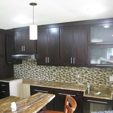 Contemporary Kitchen by Cedar Creek Cabinets & Millworks