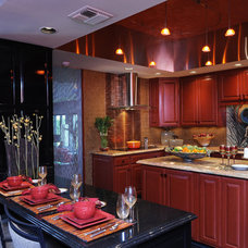 Eclectic Kitchen by Palatial Stone and Tile, LLC