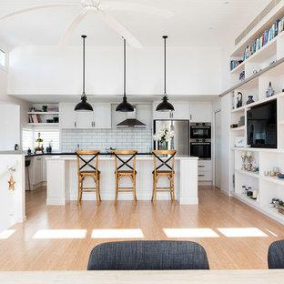 Photo of a beach style kitchen in Sunshine Coast.