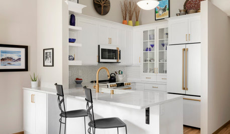 Kitchen of the Week: Bright and Functional in 94 Square Feet