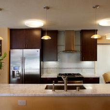 Contemporary Kitchen by Katie Anderson Interior Design Consultants