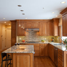 Traditional Kitchen by Catherine Schager Designs