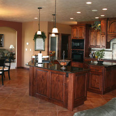 Traditional Kitchen by Hibbard Construction