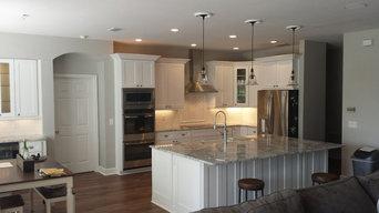 Built in White Kitchen