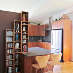 UPTOWN Mid-Century - Midcentury - Kitchen - Los Angeles - by Yipkiyeh Interiors