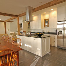 Rustic Kitchen by Solterre Design