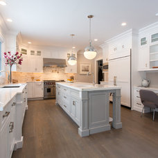 Transitional Kitchen by SIR Development