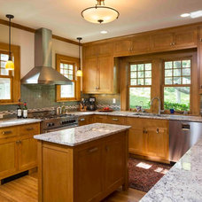 Craftsman Kitchen by TIMOTHY FULLER architects