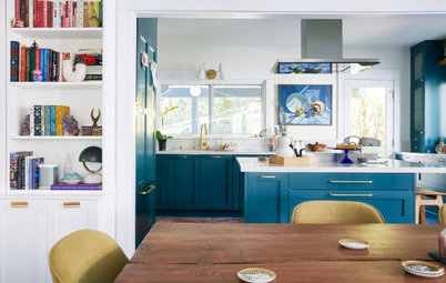 Kitchen of the Week: A Colorful Look for a 1920s Bungalow