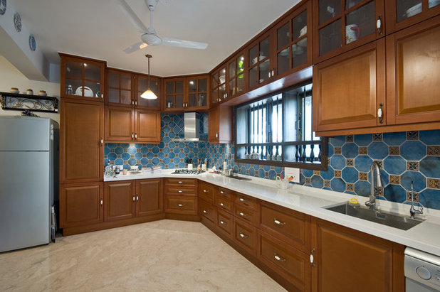 American Traditional Kitchen by H. A. Kanitkar & Co.