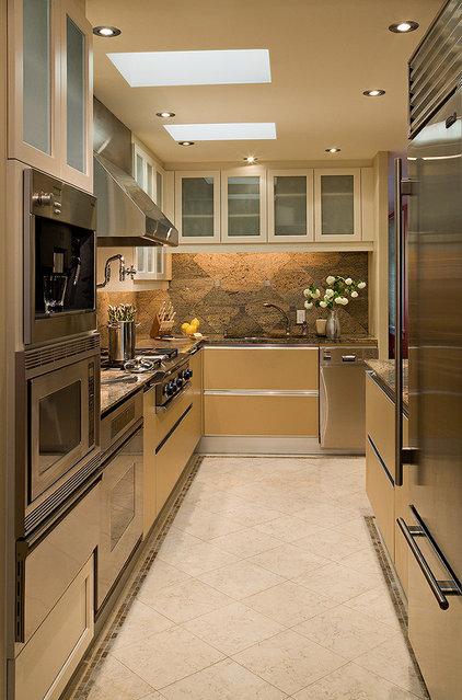 Eclectic Kitchen by Christine Suzuki, ASID, LEED AP