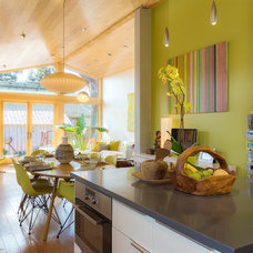 Contemporary Kitchen by Visual Jill Interior Decorating