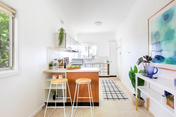 Contemporary Kitchen by Amazema Interiors