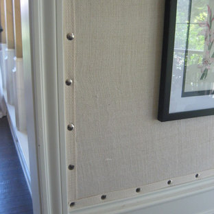 Burlap Wall Covering Houzz