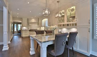 Burlington Residence -  Kitchen, Main Floor & Pillars