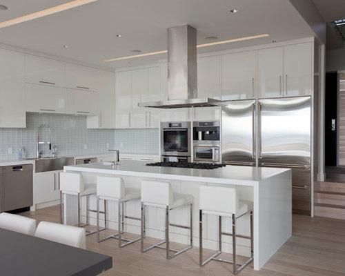 White Kitchen Island Houzz