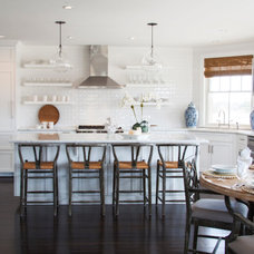 Beach Style Kitchen by Christopher's Home Furnishings of Nantucket, Inc.