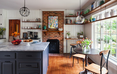 Kitchen of the Week: Eclectic French Bistro-Inspired Style