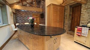 Burr oak kitchen Design