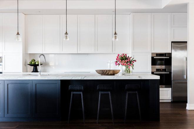 Transitional Kitchen by Tonka Andjelkovic Design