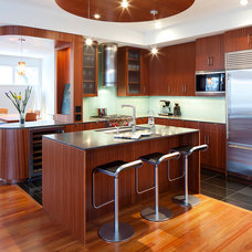 contemporary kitchen by Nguyen Architects, Inc.