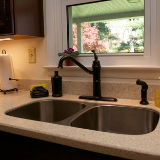 Sahara Corian Example Of A Clic Kitchen Design In Philadelphia