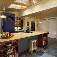 Eclectic Kitchen by Bushman Dreyfus Architects