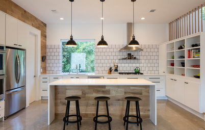 New This Week: Wood Warms These Kitchens