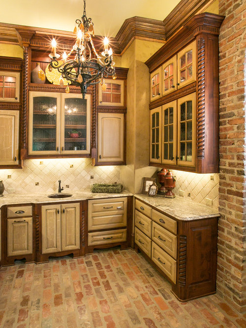 Best Kitchen Brick Floor Design Ideas Amp Remodel Pictures