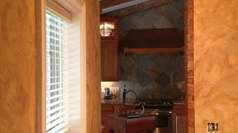 Butler's Pantry with Tuscan Plaster