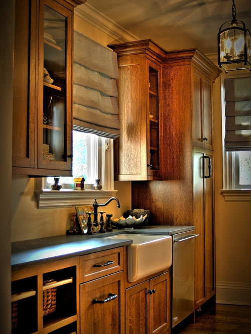 Quartersawn Oak Cabinet | Houzz