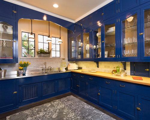 cuisine avec un vier int gr et un garde manger photos et id es d co de cuisines. Black Bedroom Furniture Sets. Home Design Ideas