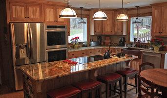 Butternut and ambrosia maple Kitchen