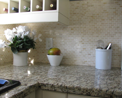 SaveEmail - Best Crema Marfil Backsplash Design Ideas & Remodel Pictures Houzz