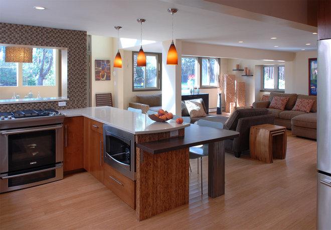 Contemporary Kitchen by Jodi Feinhor-Dennis