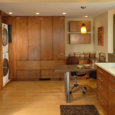 Washer And Dryer Kitchen Design Ideas, Pictures, Remodel and Decor