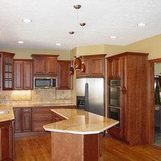 Traditional Kitchen by Kitchen & Bath Etc.