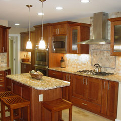 eclectic kitchen by Kitchen & Bath, Etc.