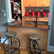 Transitional Kitchen by Hawks Renovations LLC