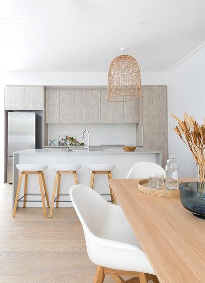 Beach Style Kitchen by The Design Villa